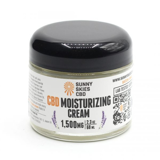 CBD Moisturizing Pain Cream 1500 mg