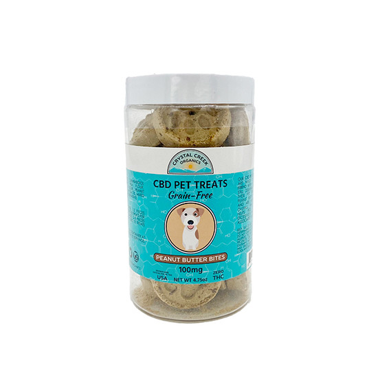 Peanut Butter Bites CBD Pet Treats
