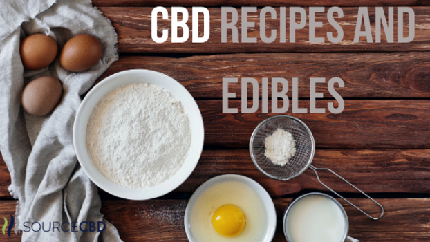 CBD Recipes and Edibles | SourceCBDOil.com