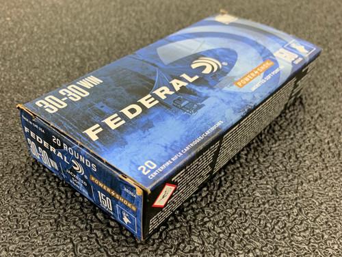 Federal 30-30 WIN PowerShok 150Gr 20Rd Box