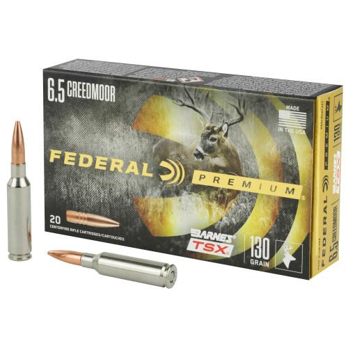 Federal 6.5 Creedmoor TSX 130Gr 20Rd Box