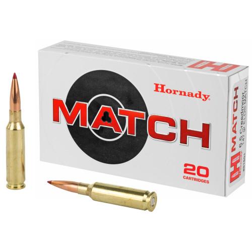 Hornady Match 6.5 Creedmoor 147Gr 20Rd Box