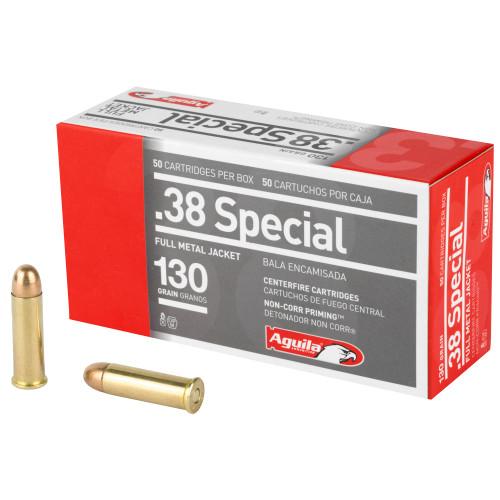 Aguila .38 Special, 130gr, FMJ, 50Rd Box