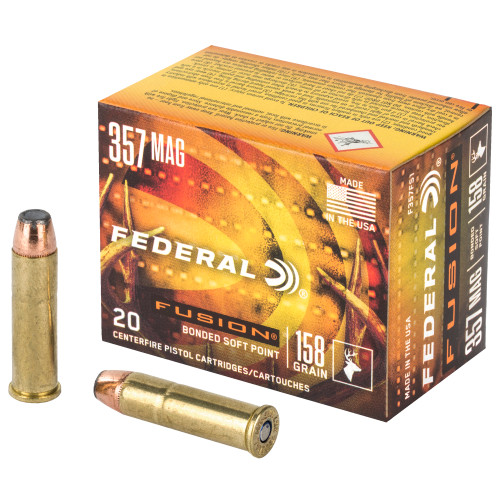 Federal Fusion .357 Mag 158gr 20Rd Box