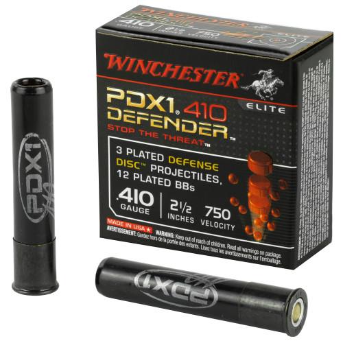 "Winchester Defender .410 2 1/2"" Buckshot 12BB 10Rd Box"