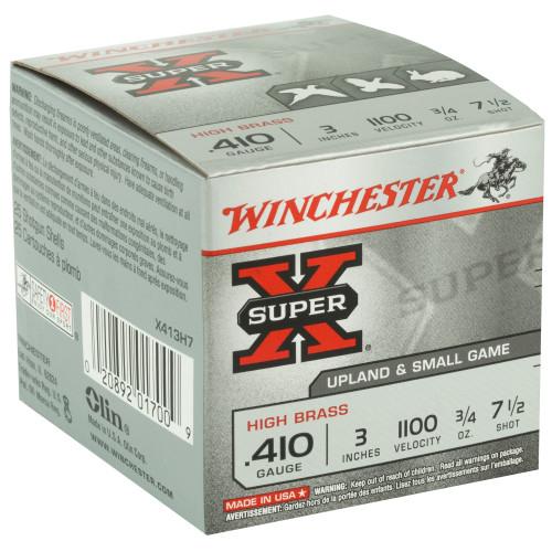 "Winchester, SX, .410 3"", 0.75 oz., Shotshell, 25 Round Box"