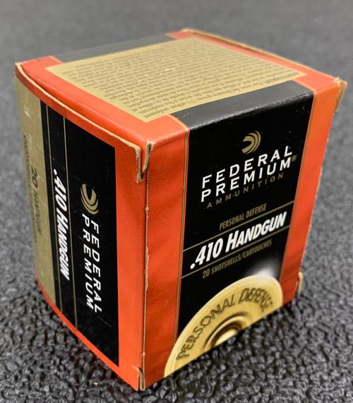 """Federal PD .410 2.5"""", 000BK 20Rd Box"""