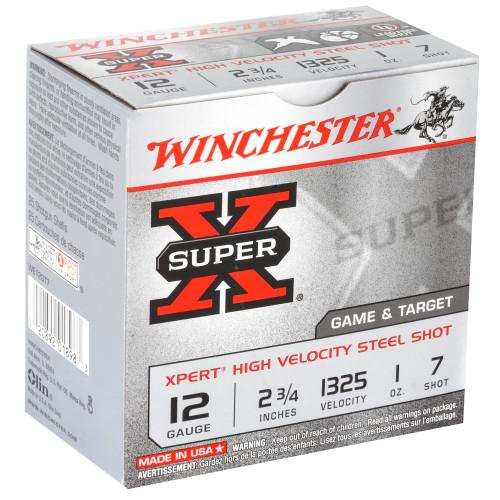 "Winchester SX Xpert 12GA, 2.75"", #7, 25 Rd box"