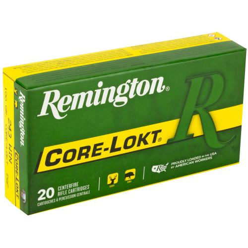 Remington CL, 243Win, 100gr, PSP, 20 rd box