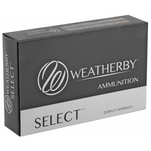 Weatherby Select 6.5 Wby RPM, 140gr, Hrndy Interlock, 20 rd box