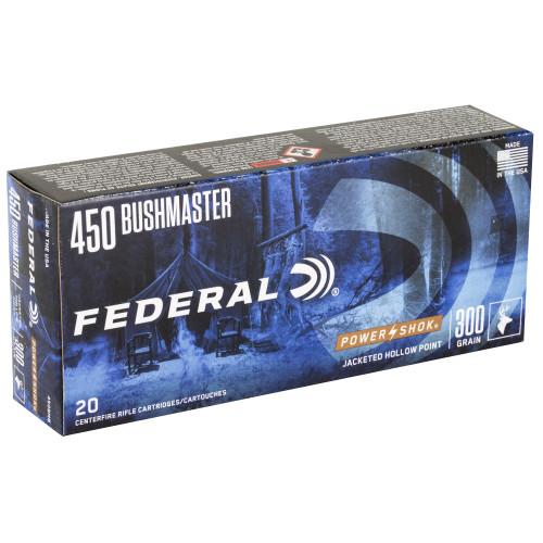 Federal PwrShk 450Bush, 300gr, 20 rd box