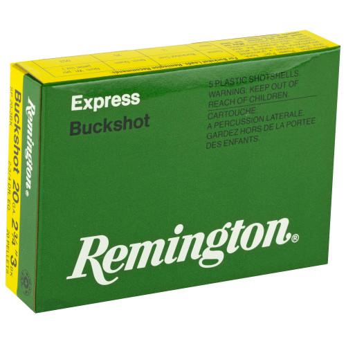 "Remington Exp 20 GA, 2.75"", 3BK, 5 rd box"