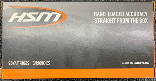 HSM 270 WSM, 130gr, SBT, 20 rd box
