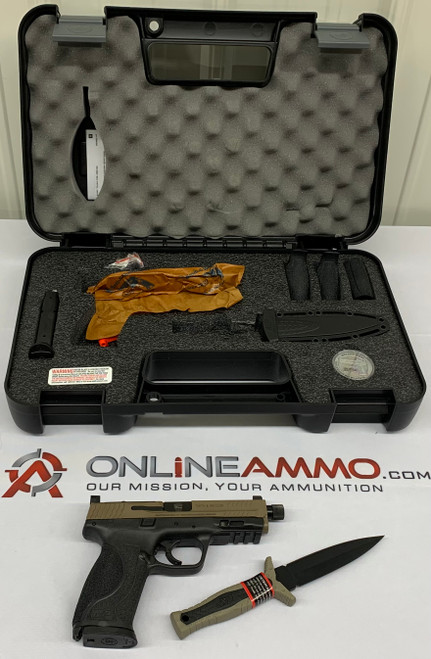 Smith & Wesson M&P 9 M2.0 with Knife & Coin (9mm Handgun)