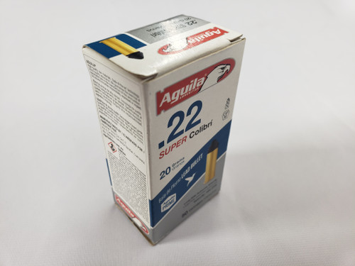 Aguila Super Colibri 22 LR, 20gr, 50 rd box
