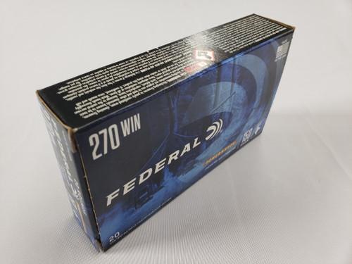 Federal PwrShk 270 Win, 150gr, JSP, 20 rd box