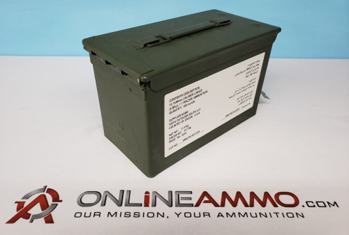 Federal .50 BMG, 660gr, M33 Ball, M17 Tracer, FMJ, Linked, 100 Rds