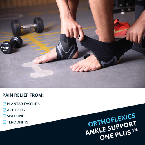 ORTHOFLEXICS Ankle Support One Plus™ (1 Pair)