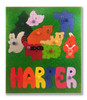 Personalized Name Puzzle | Forest Animals