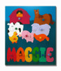 Farm Animals Name Puzzle for Kids