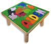 Childs custom puzzle stool