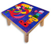 Name Puzzle Stool for an older child