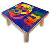 Childs Name Puzzle Stool | Moon and Stars