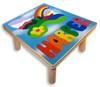 Kids Custom Name Puzzle Stool | Butterfly Mountains