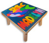Name Puzzle Step Up Stool | Kitty Cat and Fish