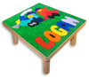 Wooden Name Train Puzzle Stool