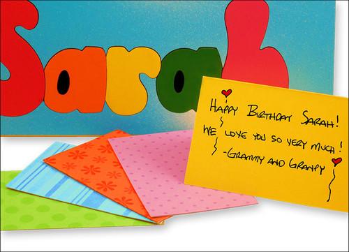 Kid Puzzles Gift Card Enclosure