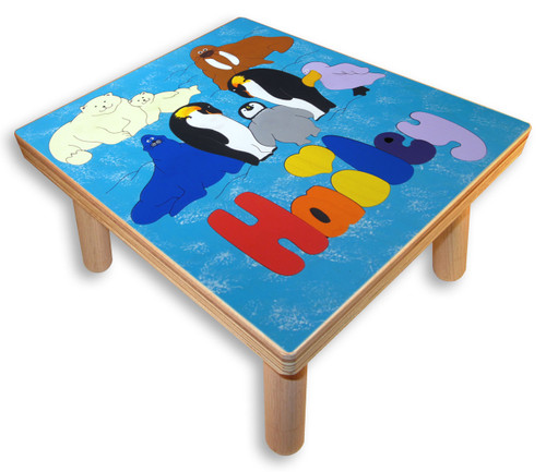 Kids Name Puzzle Stool