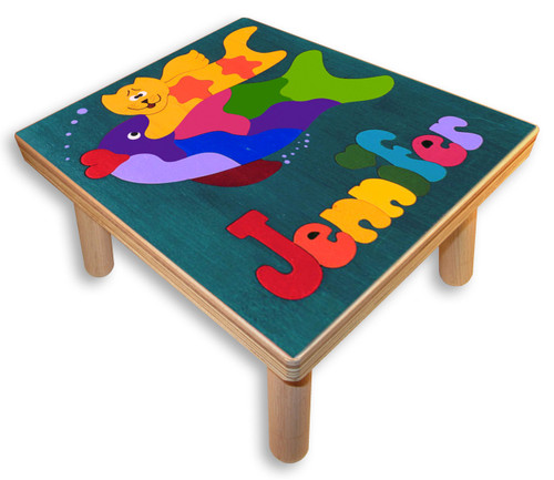 Step Stool with child's name