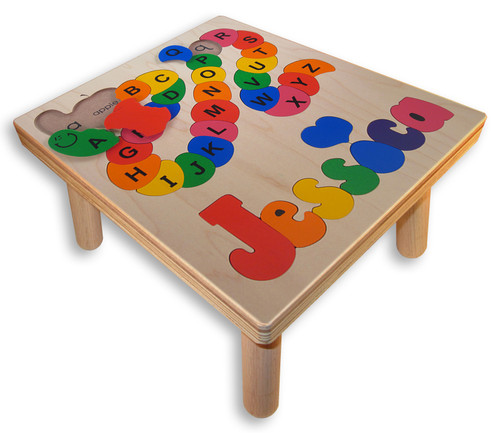 Childs Puzzle Stool