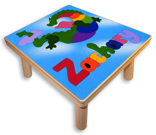 Custom Childs Puzzle Stool