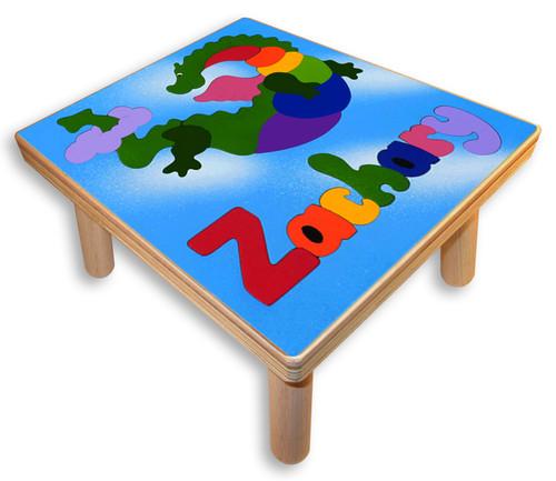 Custom Childs Puzzle Stool