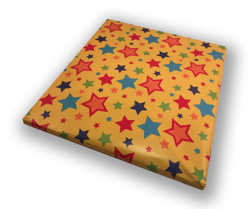 Gift wrap without ribbon