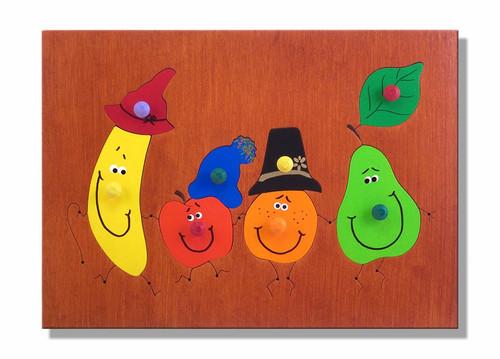 Fruit Wooden Puzzle