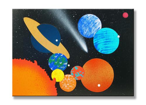 Solar System Planet Puzzle
