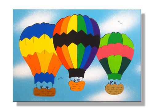 Hot Air Balloons Puzzle