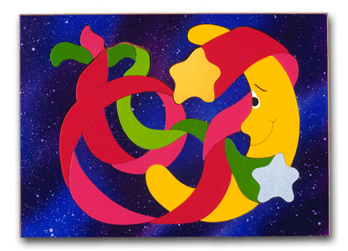 Outer Space Planets Puzzle