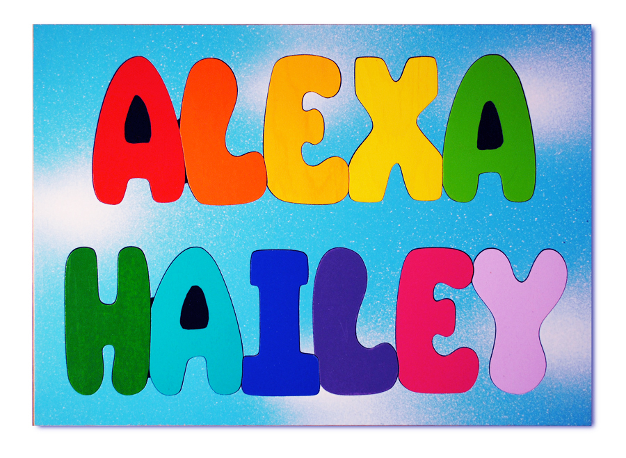 name puzzles for children