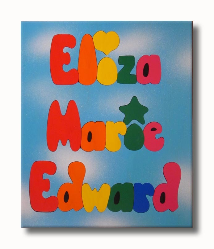 personalized name puzzles for children