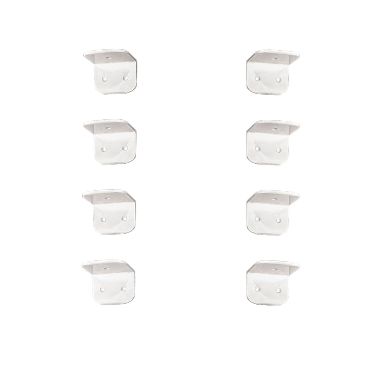 Aluminum Powder Coated Chocks: F380 & F400