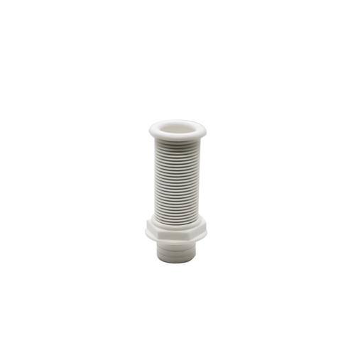 Plastic Drain Tube White.  100 mm/D25mm