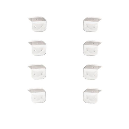 Aluminum Powder Coated Chocks: E340