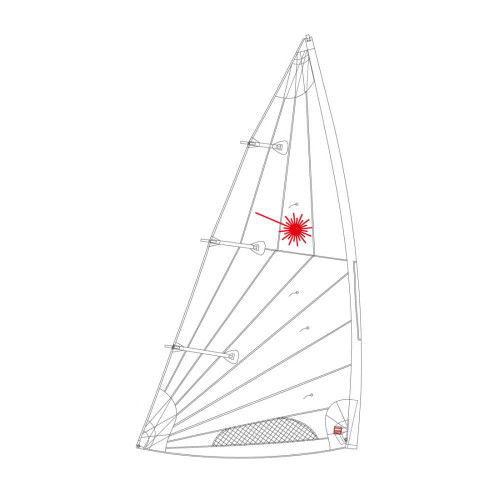 Laser Sails - Standard, Radial, & 4 7 Sails for Laser Sailboats