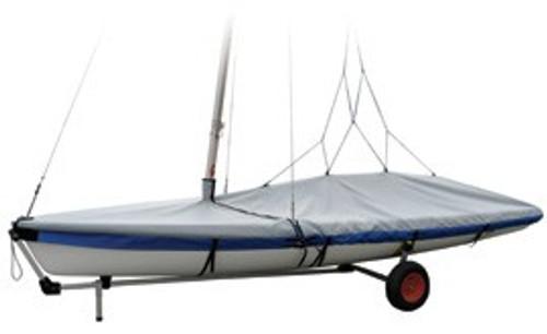 Vanguard 15 Sailboat Boat Deck Cover Gray Top Gun