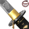 MOSHIRO Kill Bill Bud's DEMON Sword Battle Ready Katana Engraved Hattori Hanzo Steel