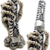 Claw Of Death Dagger Skulls Tanto Knife w Skeletal Hand Display Stand